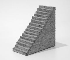 "Minimalist Abstract Contemporary Sculpture In Concrete ""Escalier"" 2019"