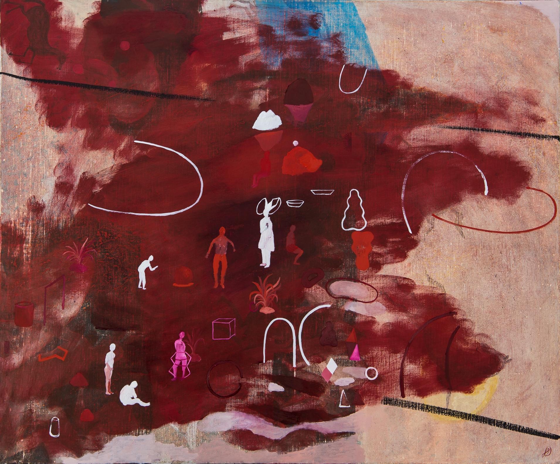 Selective memory #3 - Hélène Duclos, 21st Century, Contemporary painting