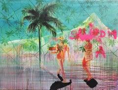 Haïti - Leslie Amine 21st Century, Contemporary figurative painting, Africa