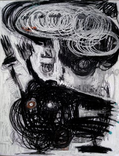 Untitled - Parmis Sayous 21st Century drawing, Iranian contemporary painting