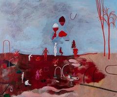 Selective memory #3- Hélène Duclos, Contemporary figurative painting
