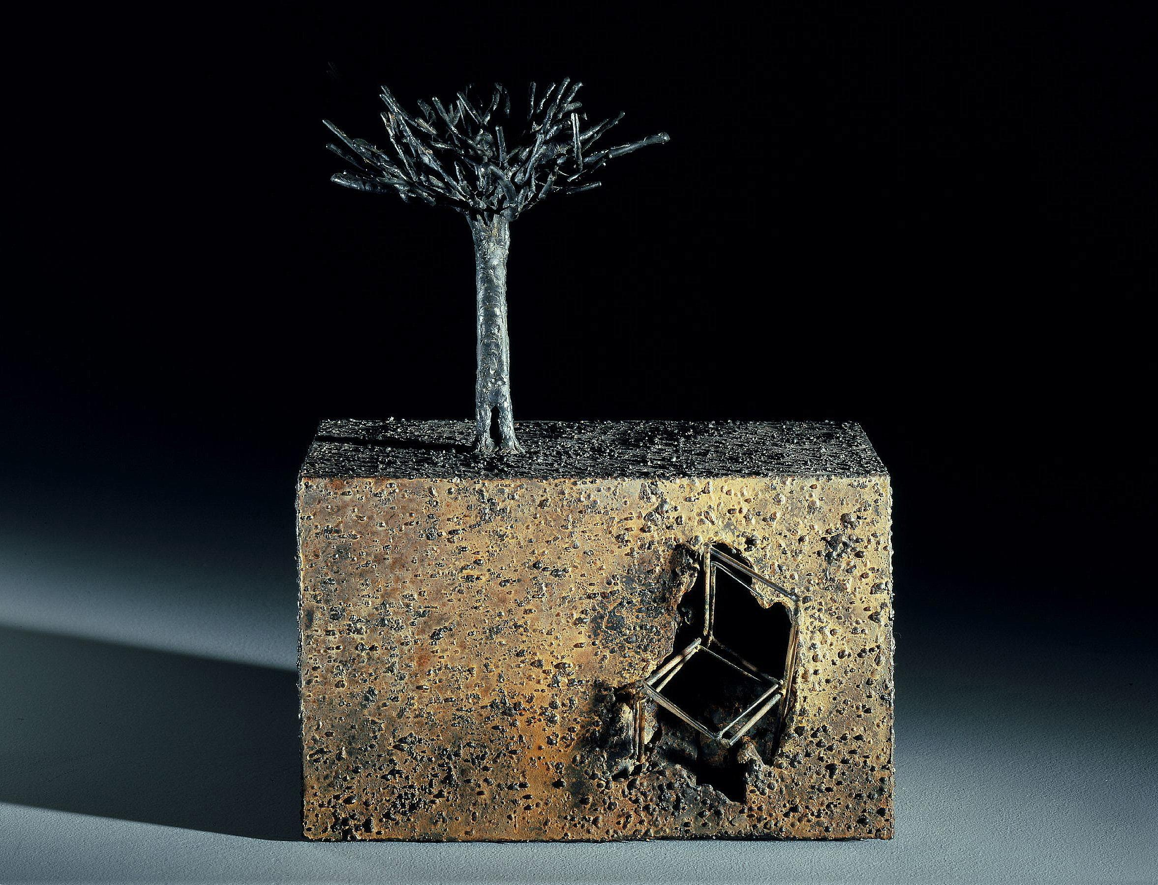 Archeology - Jean-Paul Réti, 21st Century, Contemporary metal sculpture