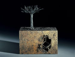 Archeology - Jean-Paul Réti, 21st Century, Contemporary metal sculpture