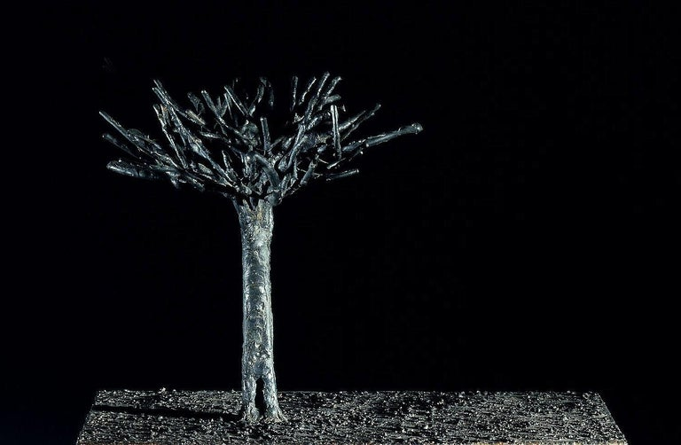 Archeology - Jean-Paul Réti, 21st Century, Contemporary metal sculpture For Sale 1