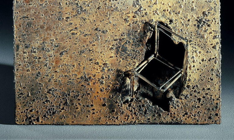 Archeology - Jean-Paul Réti, 21st Century, Contemporary metal sculpture For Sale 2