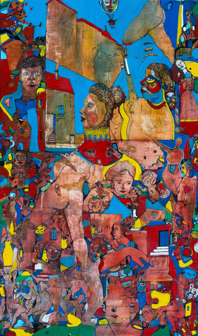 Amazonia - Antoine Néron Bancel, 21st Century, Contemporary figurative painting - Painting by Antoine Néron Bancel
