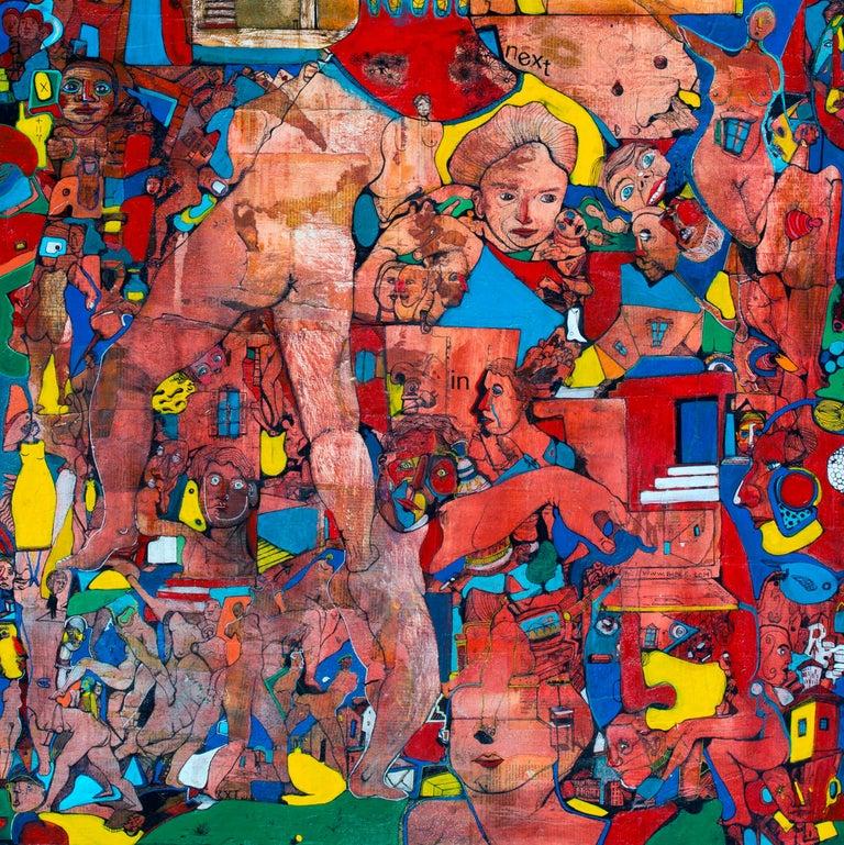 Amazonia - Antoine Néron Bancel, 21st Century, Contemporary figurative painting For Sale 1