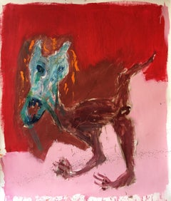 Geez ! - Julien Wolf, 21st Century, Contemporary Expressionist Painting