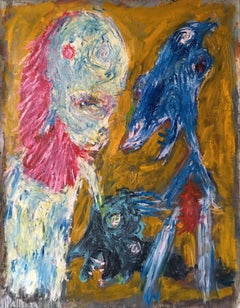 Recovery - Julien Wolf, 21st Century, Contemporary Expressionist Painting