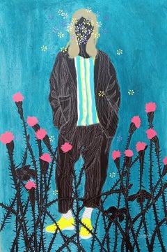 In the waka #3 - Moustapha Baïdi Oumarou, 21st Century, African painting
