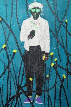 Metamorphosis - Moustapha Baïdi Oumarou, 21st Century, African painting