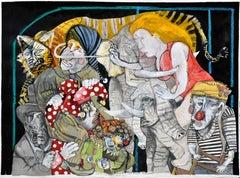 Una familia funcional I - Sergio Moscona, 21st Century, Figurative painting