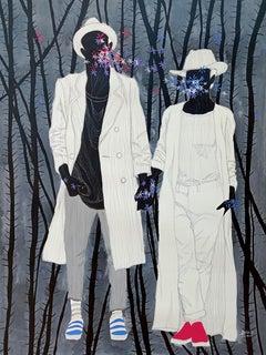 Fusion - Moustapha Baïdi Oumarou, 21st Century, African painting