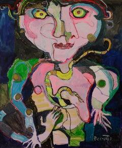 Magic - Simone Picciotto, 21st Century, Contemporary figurative painting