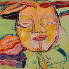 Prayer - Simone Picciotto, 21st Century, Contemporary figurative painting