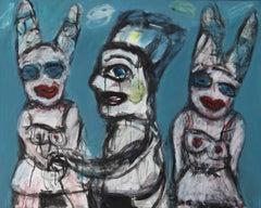 Jealousy - Joanna Flatau, Contemporary Expressionist painting
