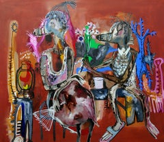 Love is perfect - William Bakaïmo, 21st Century, Contemporary African Painting