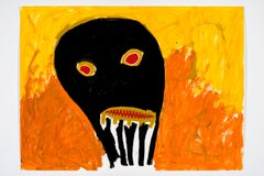 Desolate yet undaunted -Daniel Erban, 20th Century, Outsider art, Figurative