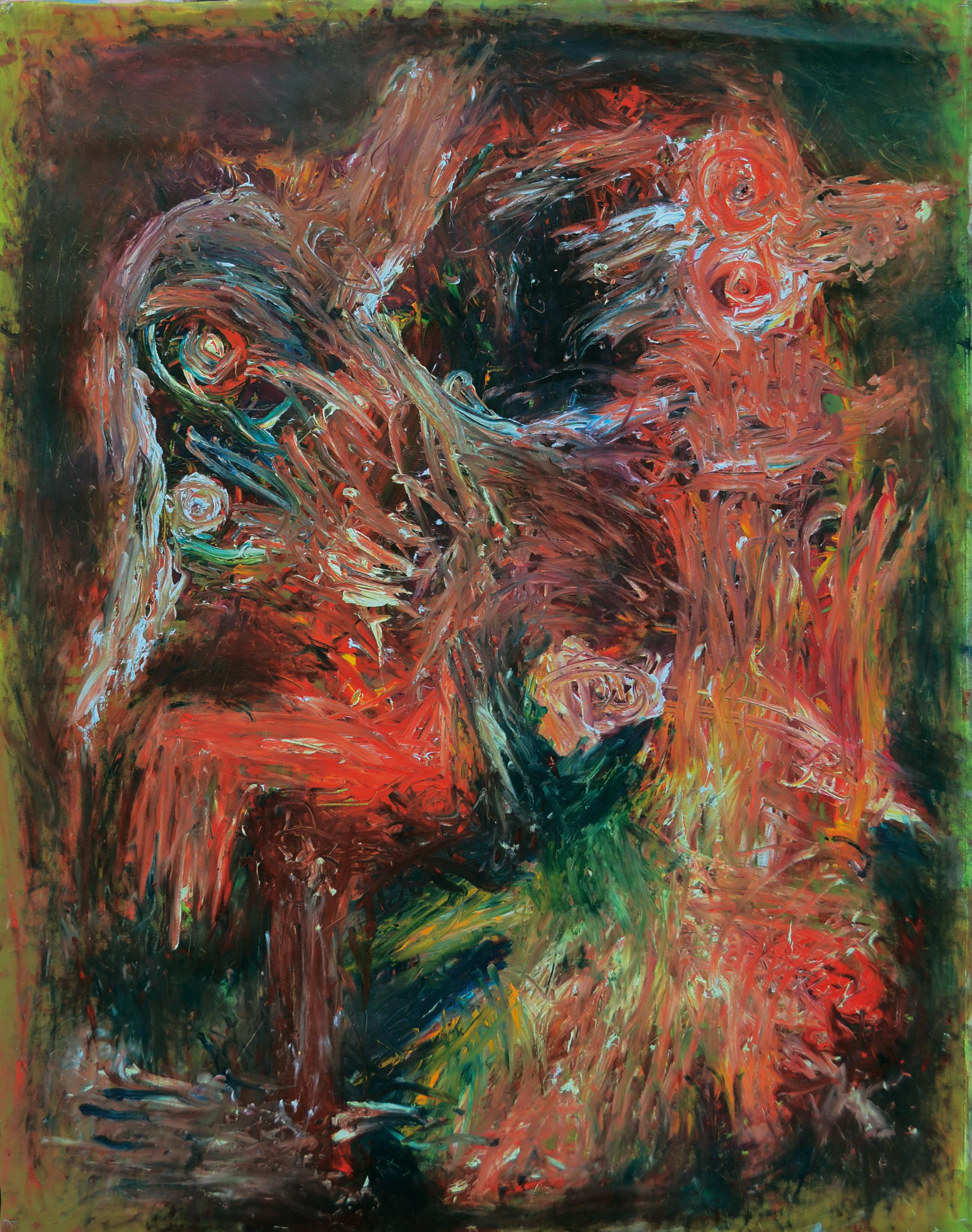 A small picodon ? Julien Wolf Contemporary Expressionist Painting