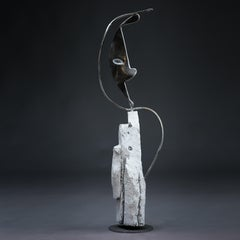 Parable - Haude Bernabé, 21st Century, Contemporary metal sculpture, figure