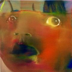 Red head - Marie-Hélène Fabra 21st Century Contemporary Figurative painting