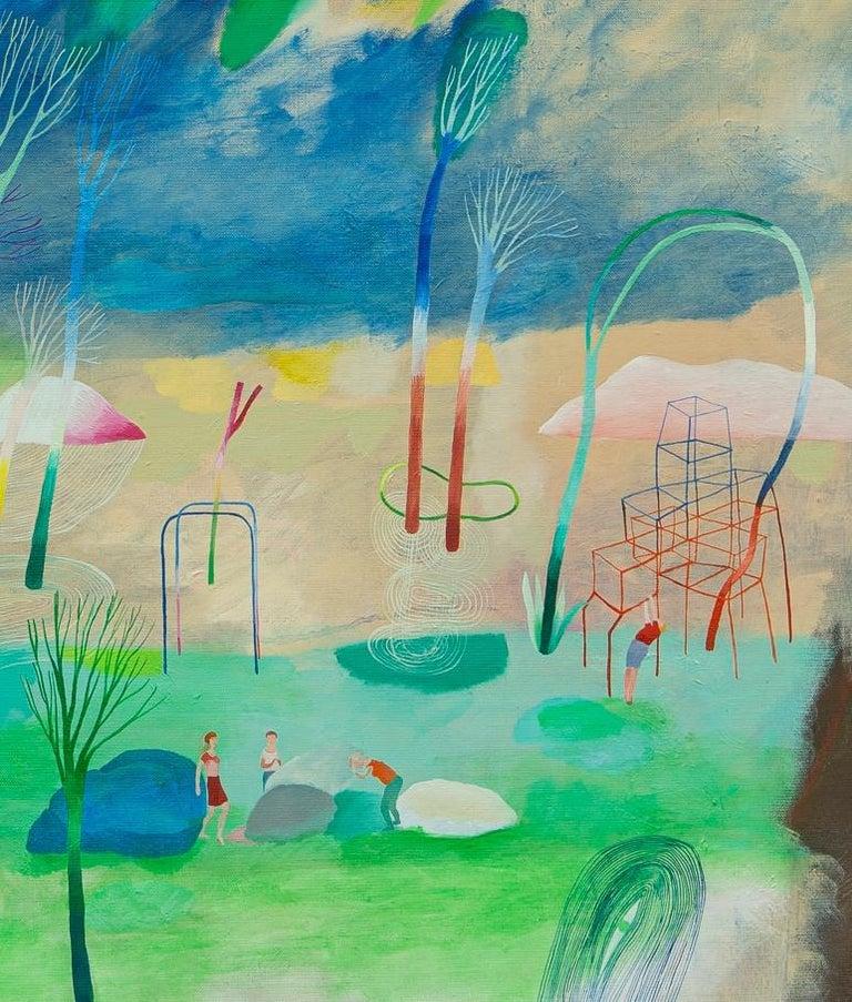 Change of paradigm #3 - Hélène Duclos, 21st Century, Contemporary figurative For Sale 1