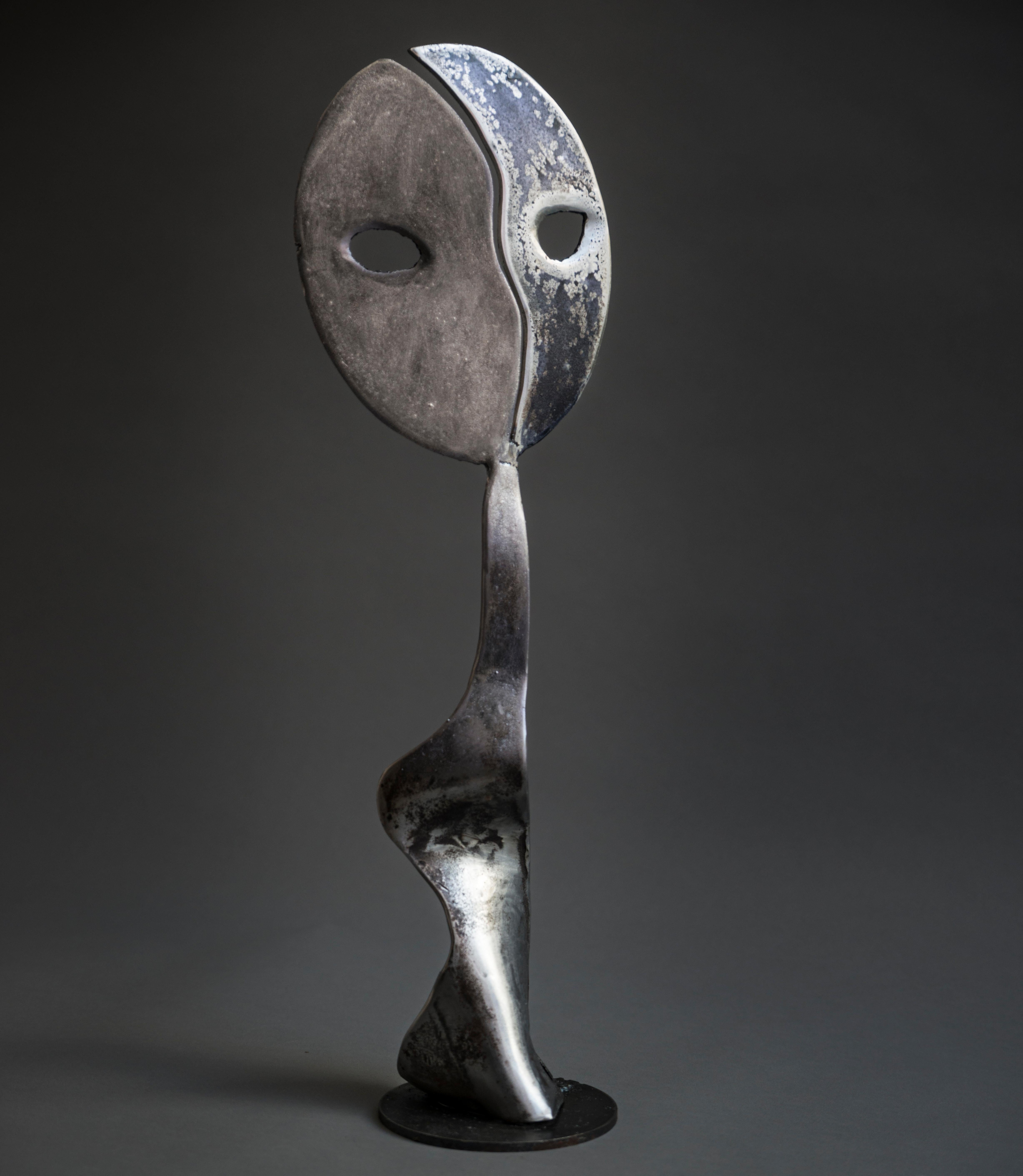 Moonshine - Haude Bernabé, 21st Century, Contemporary metal sculpture, figure