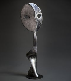 Moonshine - Haude Bernabé, 21st Century, Contemporary metal sculpture, figure