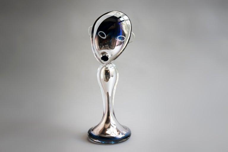 Mona Lisa - Haude Bernabé, 21st Century, Contemporary Murano glass sculpture - Sculpture by Haude Bernabé