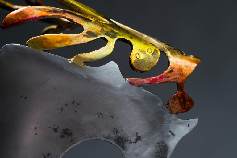Someones in my head  - Haude Bernabé, 21st Century, Contemporary metal sculpture For Sale 1