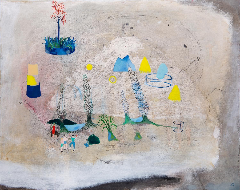Imperceptible change #4 - Hélène Duclos, Contemporary figurative painting