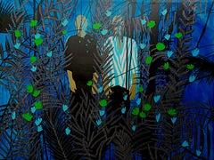 The jungle - Moustapha Baïdi Oumarou, 21st Century, African painting