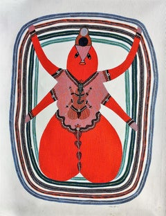 Budhi Mata - Ram Singh Urveti, 21st Century, Indian contemporary painting