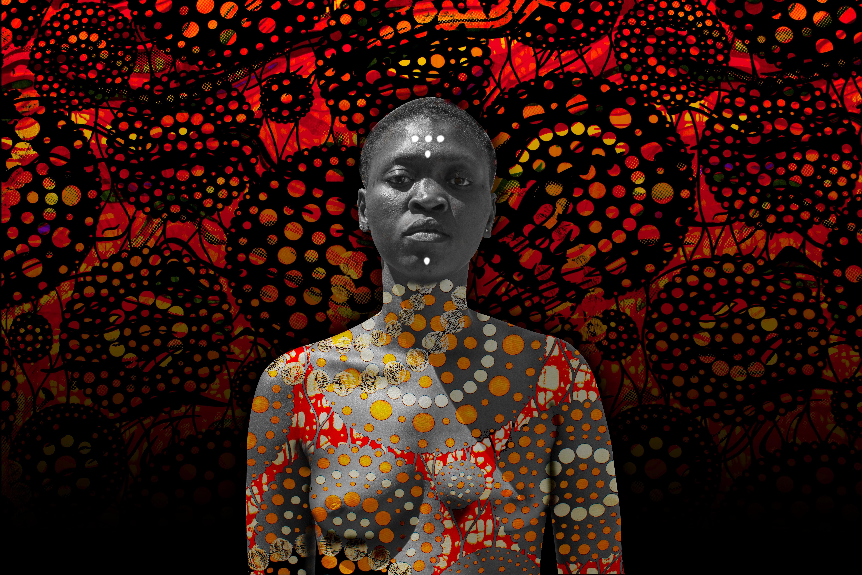 Masque à rebours Françoise Benomar, 21th Cent., African Contemporary Photography