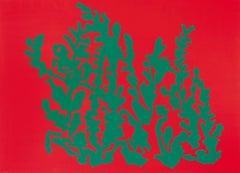 Red suite Caroline Veith, 21st Century, Contemporary figurative painting