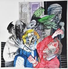 Strange presence III - Sergio Moscona, 21st Century, Figurative painting