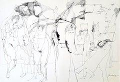 Salome - Lajos Szalay, 20th Century, Figurative drawing