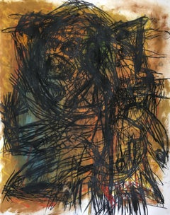 Sporadic fulmination-Julien Wolf 21st Century Contemporary Expressionist Drawing