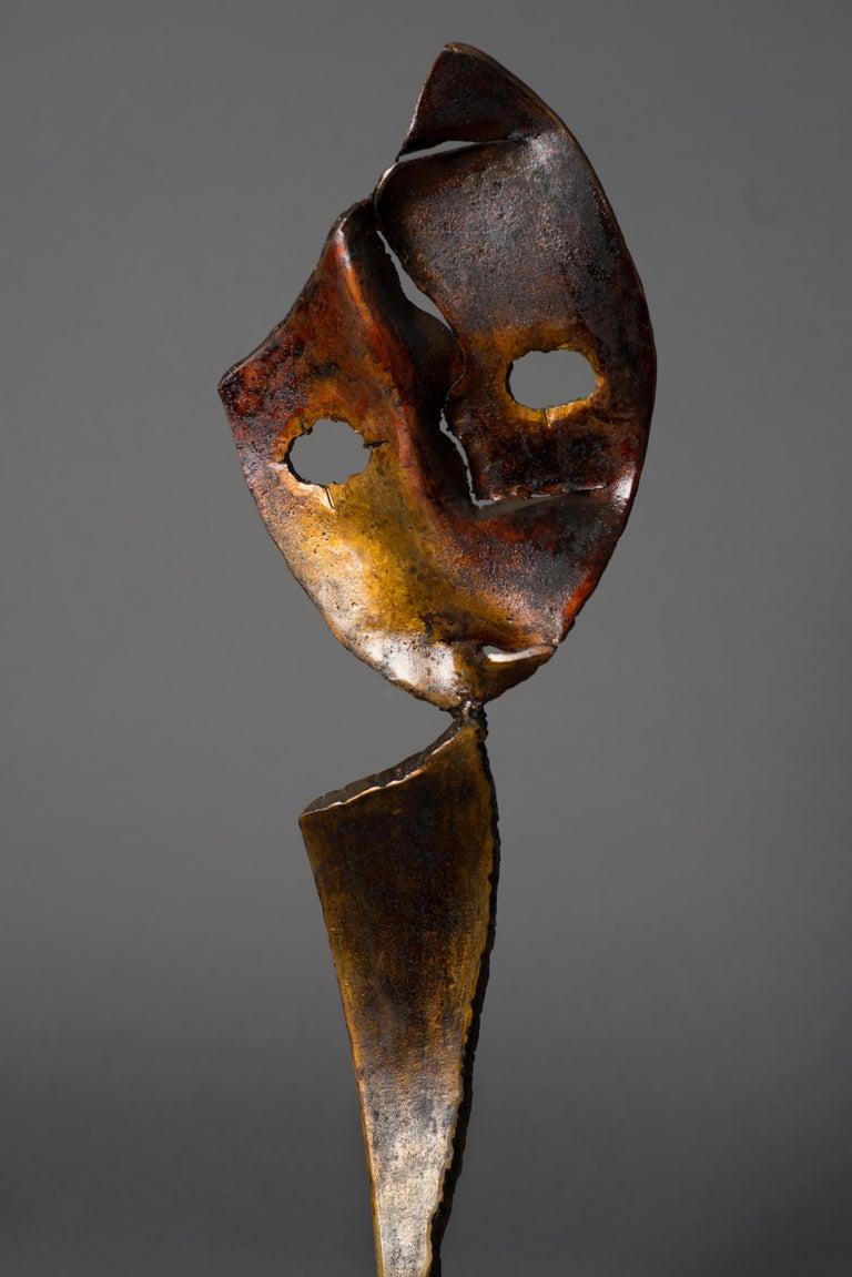 Eclipse - Haude Bernabé, 21st Century, Contemporary metal sculpture, figure - Sculpture by Haude Bernabé