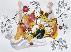 Synapses - Haude Bernabé, 21st Century, Contemporary Figurative Drawing