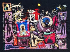 Death told her, Barbara d'Antuono, 21st Century Contemporary textile art