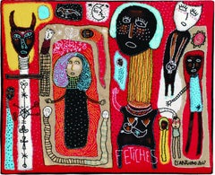Fetishes, Barbara d'Antuono, 21st Century Contemporary textile art