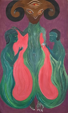 Untitled - Fanfan Romain, 21st Century, Contemporary haitian painting