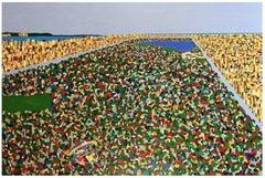 Albrecht Behmel, Manhattan, Acrylic on Canvas