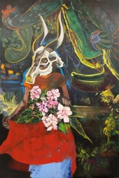 Susanne Zagorni, Tauschung (Deception) Acrylic and oil on Canvas