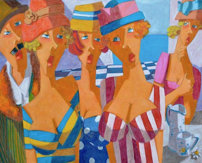 Lucio Diodati, Nel Cielo una Stella, 2016 - Painting by Lucio Diodati