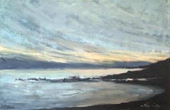 Seascape - Contemporary Figurative Oil Painting, Nature, Sea View