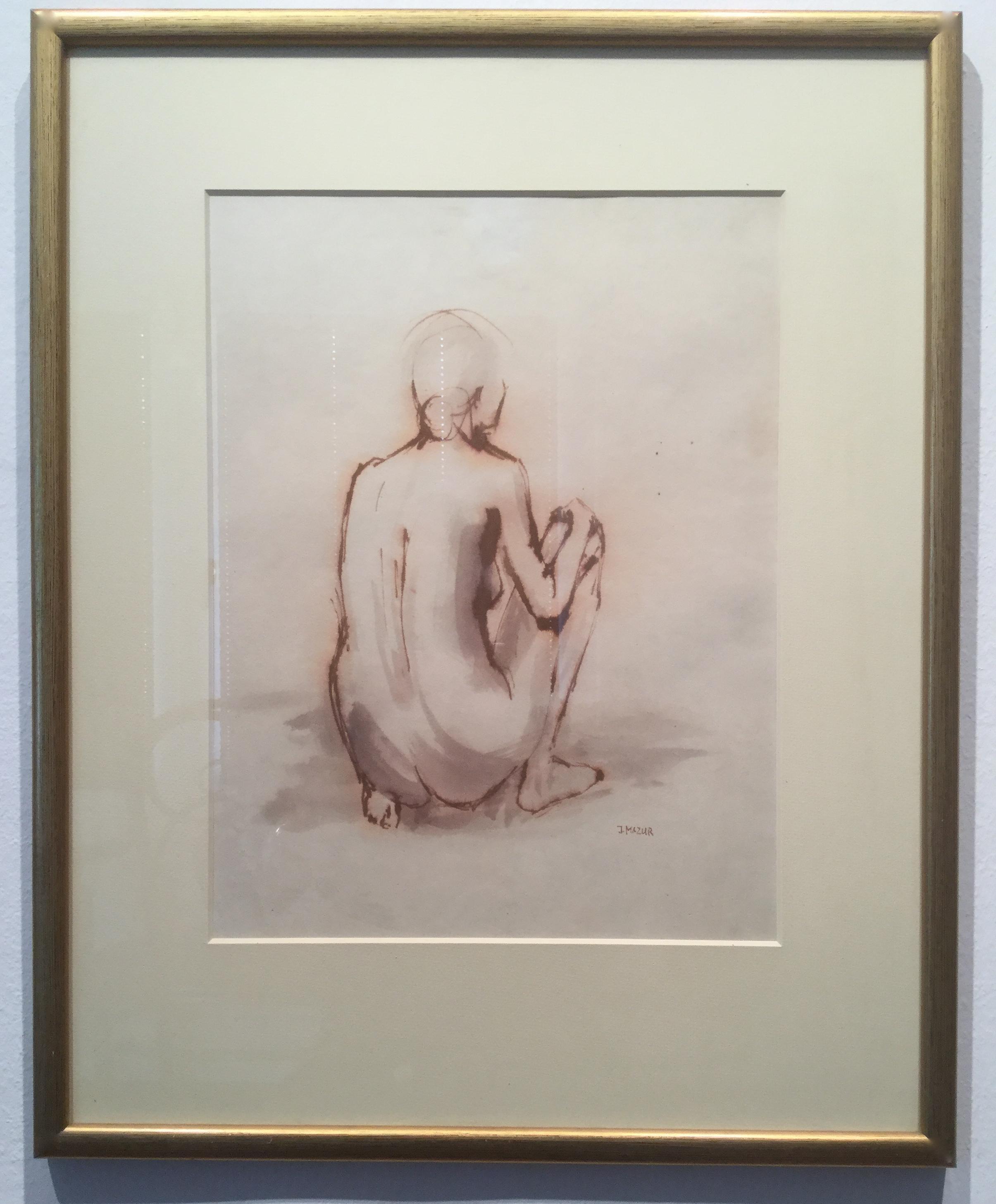 Nude - Crouching Woman
