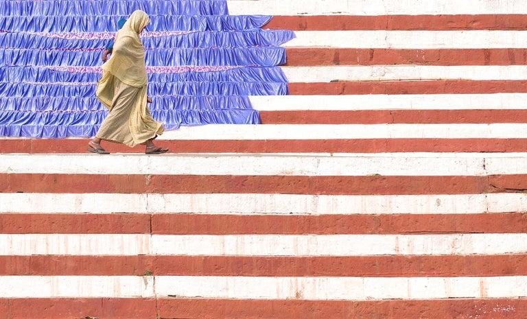 Marcin Ryczek Figurative Photograph - Emigration - The United States of Earth II