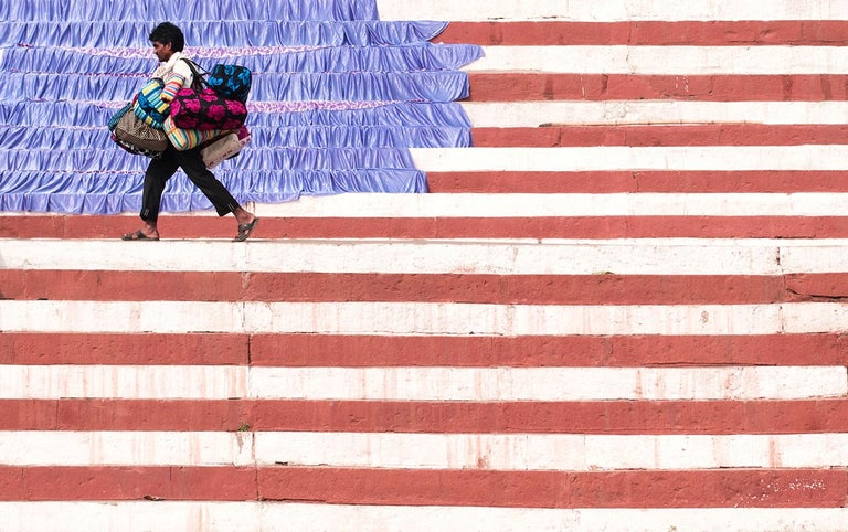 Marcin Ryczek Figurative Photograph - Emigration - The United States of Earth I
